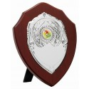Dark Wood Shield 18cm D725D