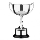 """Cambridge"" Silver Plated Trophy Cup on bakelite base. 6 sizes available"