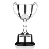 """Staffordshire"" Silver Plated Trophy Cup on bakelite base. 8 sizes available"