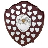 "Presentation Shield 12"" with 28 side shields!"