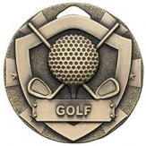 Bronze golf medal