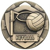 Netball 50mm Bronze Medal