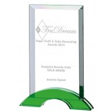 Coloured Optical Glass Award. 3 Sizes available