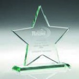Jade Glass Star Award KG6A