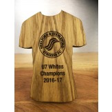 Bespoke Wooden Shirt Trophy