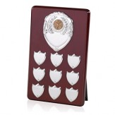 Perpetual Plaque With Shield Fronts 10""