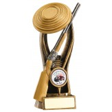 clay pigeon shooting trophy