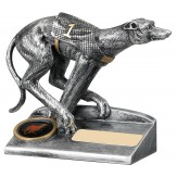greyhound trophy 12cm